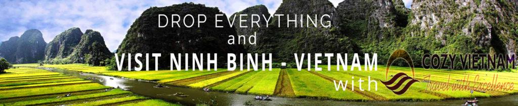 Ninh Binh Vietnam Banner Cozy Vietnam Travel