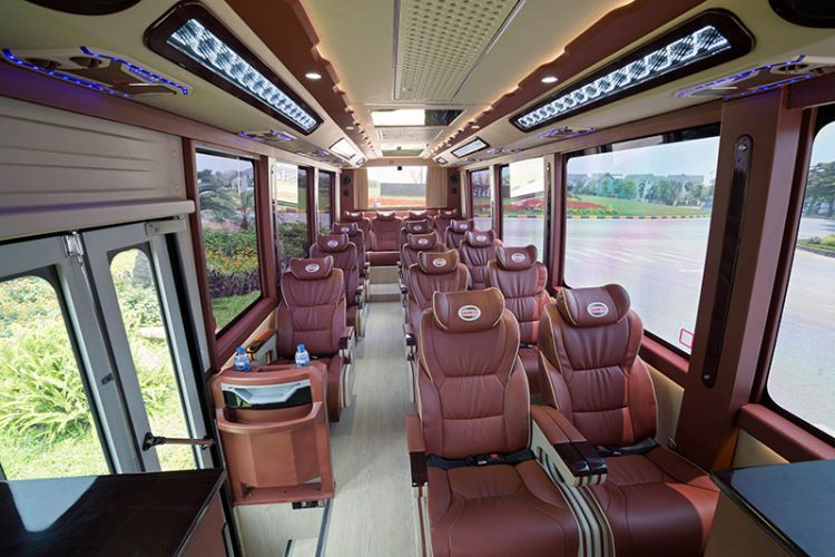 Cat Ba Island to Ninh Binh 16 seats Limousine