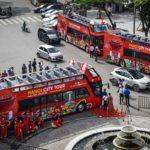 Ride on Hanoi Hop-on Hop-off City Bus