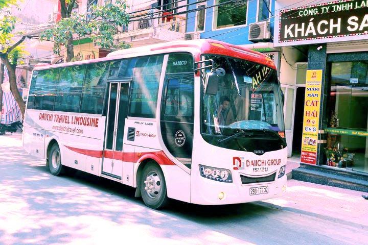 Hanoi to Cat Ba island bus