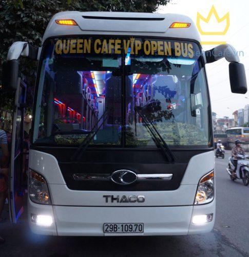 Hanoi to Hue Queen Cafe Open bus