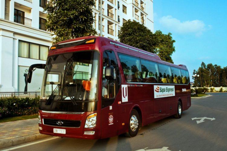 Hanoi to Sapa Express seats bus
