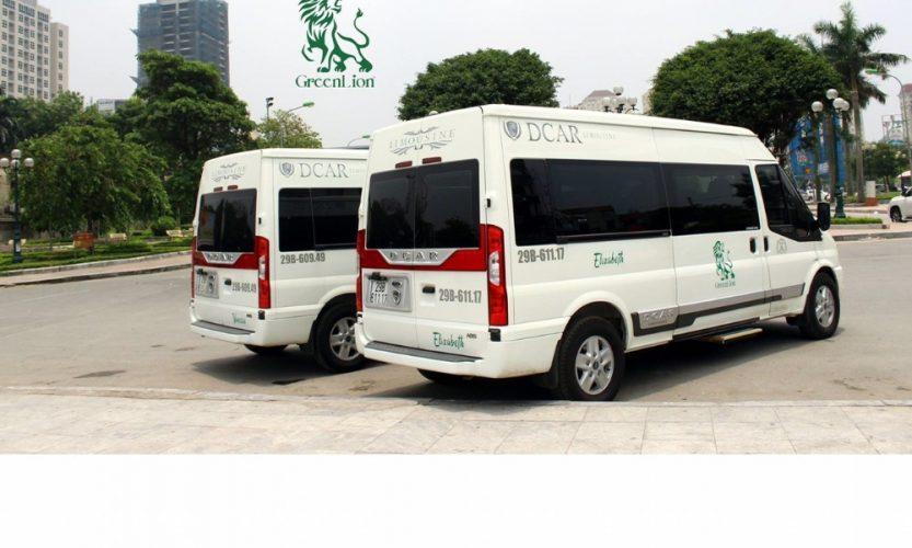 Hanoi to Sapa Green lion Limousine van