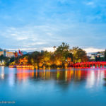 Hoan Kiem Lake & Ngoc Son Temple in Hanoi