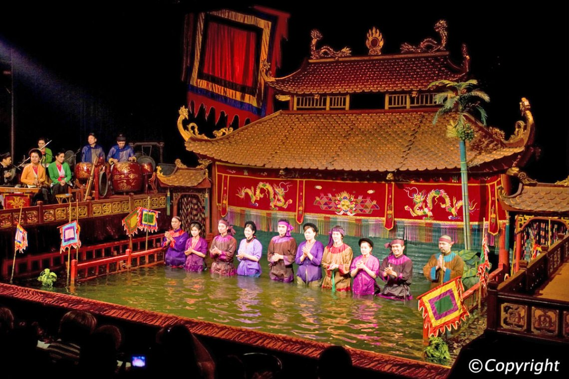 Water Puppet Theatre in HCM City