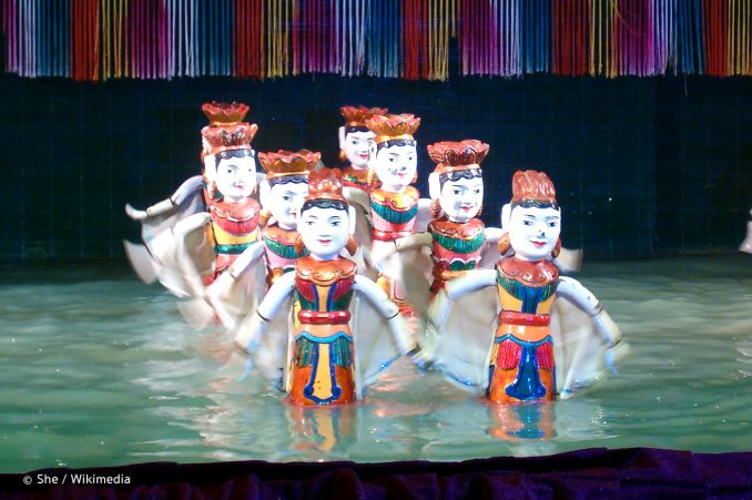 Water Puppet Theatre in Ho Chi Minh