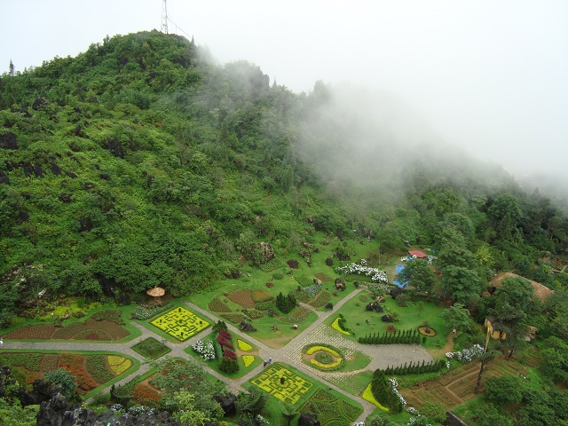 Ham Rong Mountain in Sapa